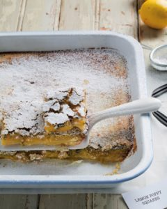 Our lemon poppy squares are delicious and can be whippedhellip