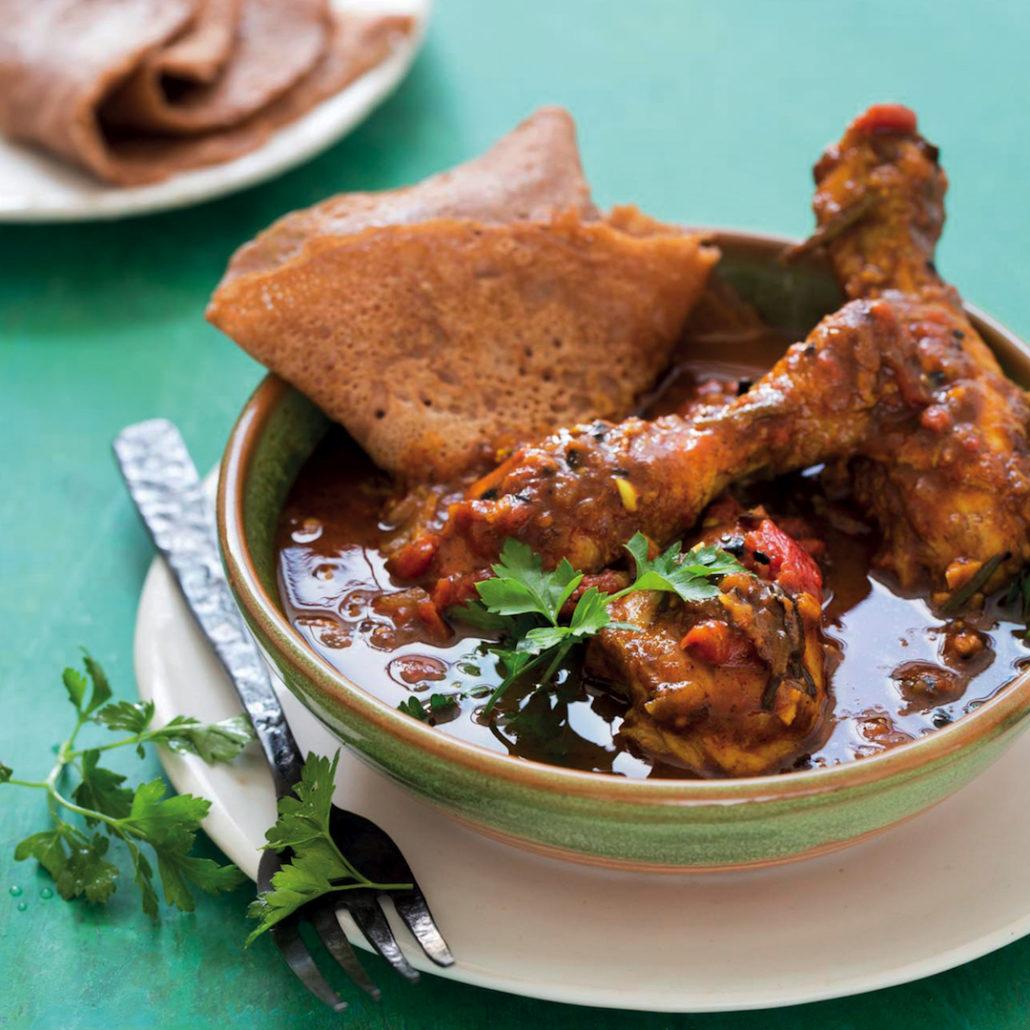 Spicy Moroccan chicken