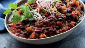 Spicy bean chilli today. Sloppy joes tomorrow!