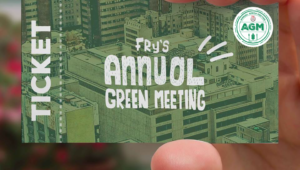 Fry's Annual Green Meeting comes to Joburg!