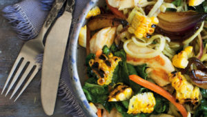 Chicken and swoodle stir-fry
