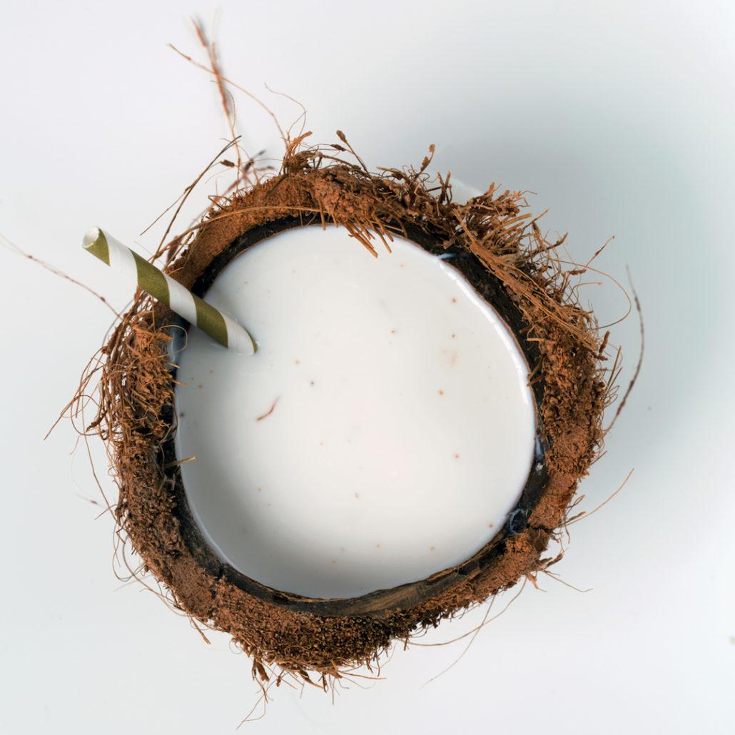 Home-made coconut milk