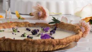 Lavender tart