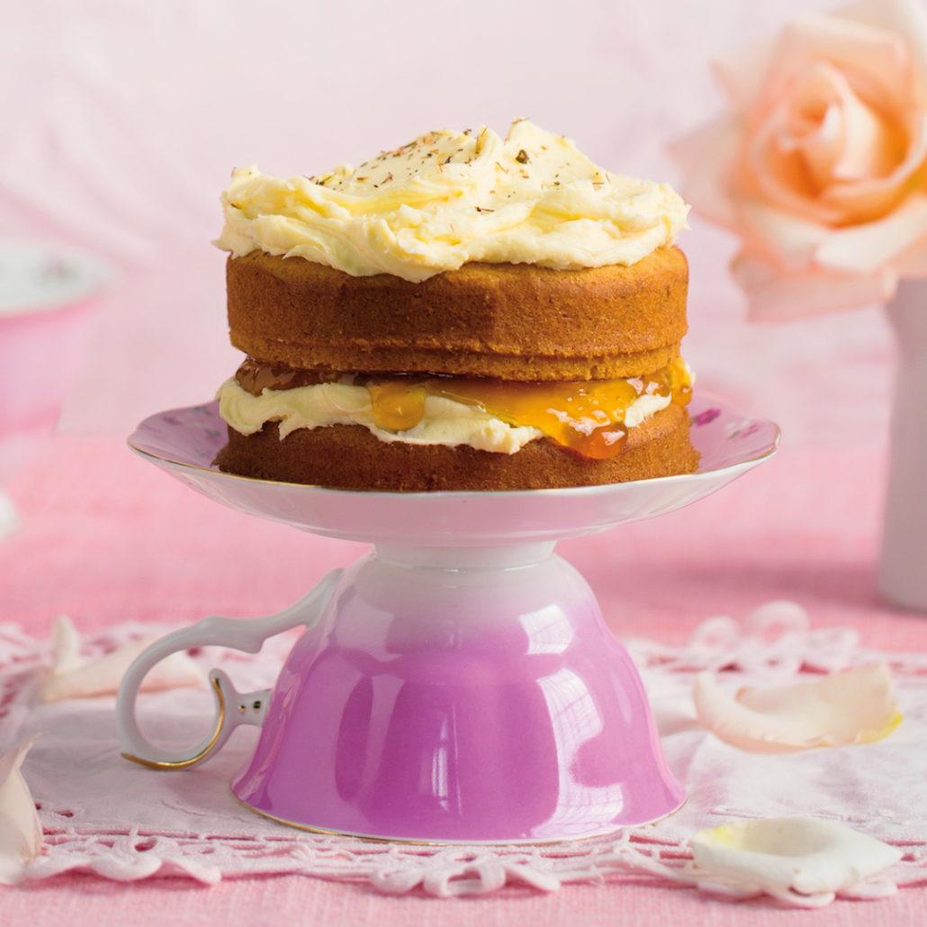 Mini rooibos cakes
