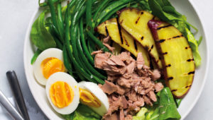 Sweet potato and tuna salad