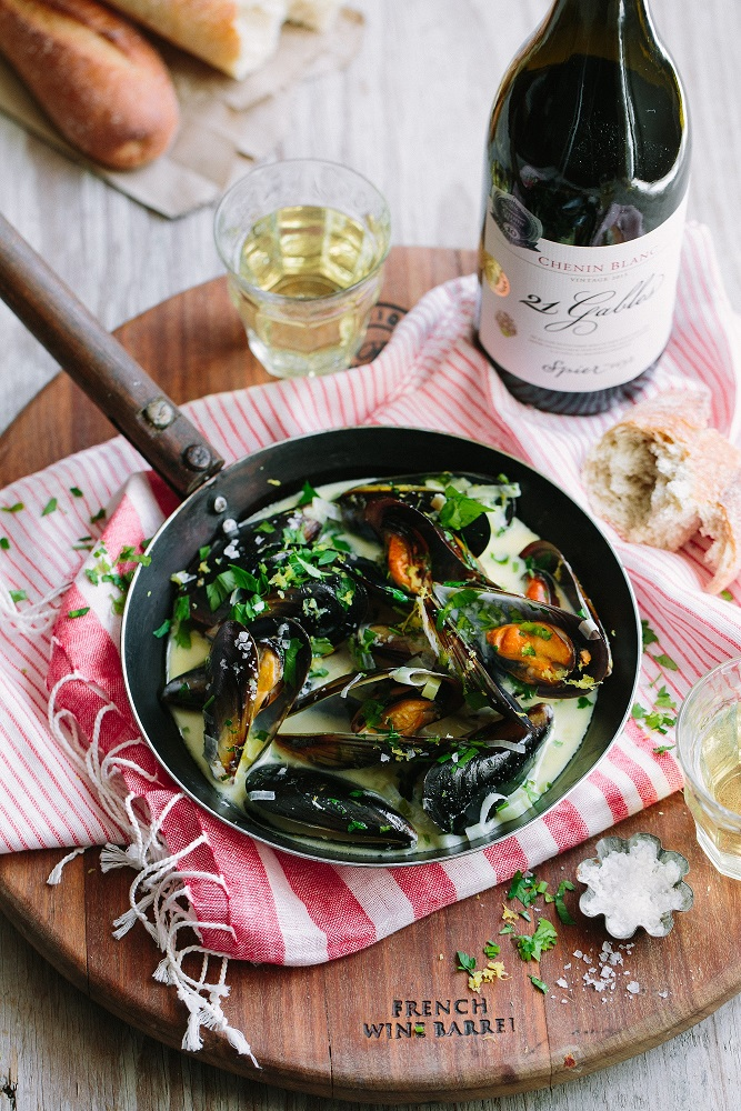 Chenin Blanc, perfect for late summer sipping (and cooking!)