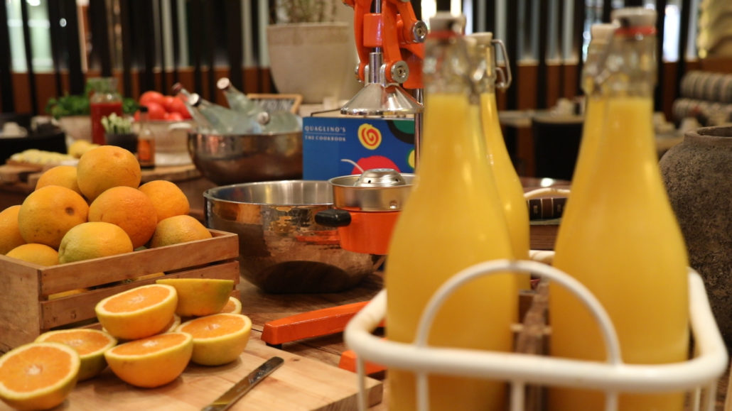 The Radisson Blu minimises waste by making marmalade!