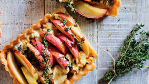 goat's cheese tart