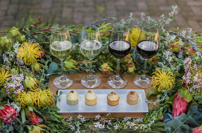 Delheim introduces their fynbos cupcake and wine pairing