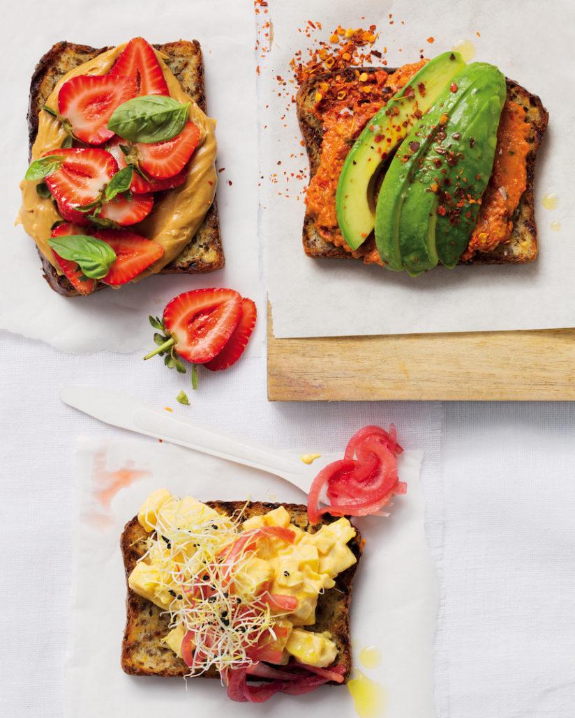 Open sandwiches