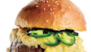 Tex-Mex burgers