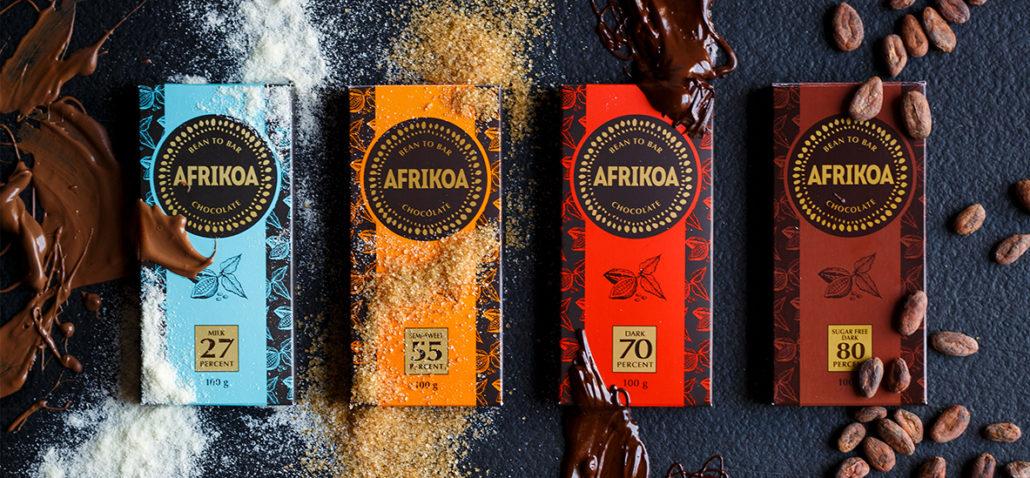Local AFRIKOA Chocolate wins International Great Taste Award