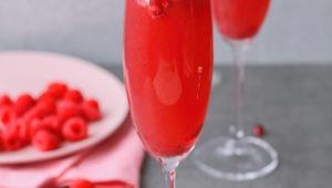 Celebrate Ocsober with a beautiful ZARI berry bellini