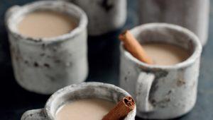 Date and cinnamon toasted rice milk