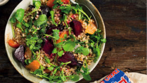 Pearl wheat salad