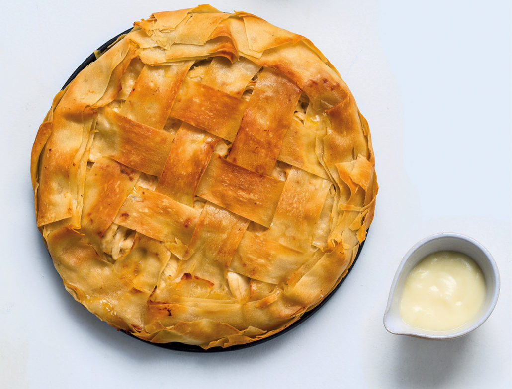 Cape chicken pie with basic roux