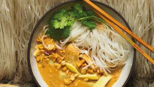 Massaman noodles