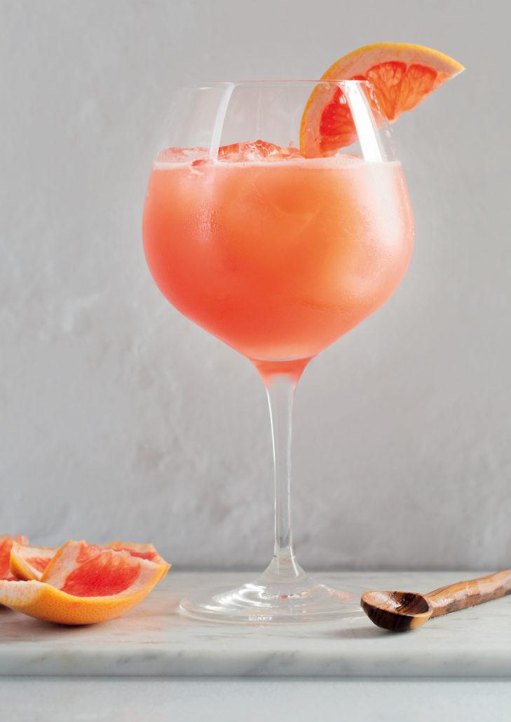 Grapefruit spritzers