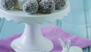 Chocolate egg truffles