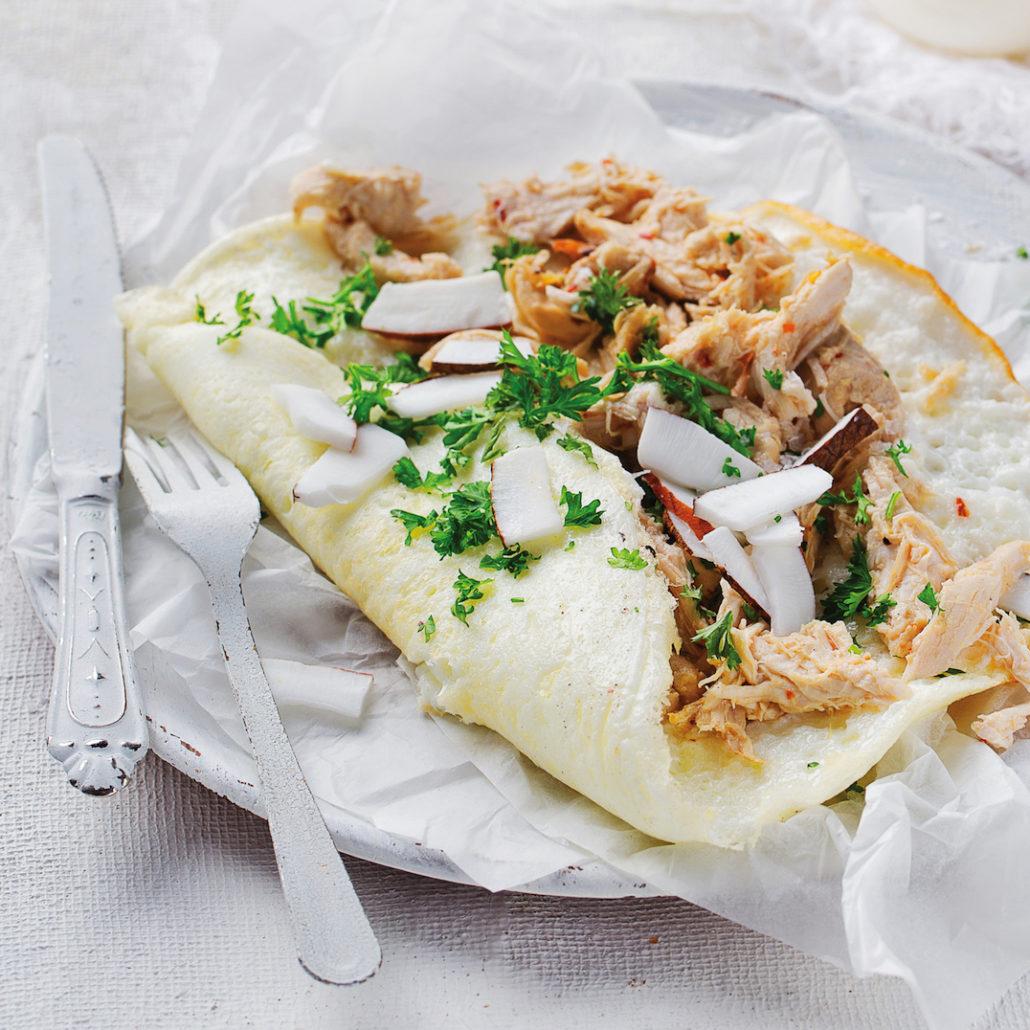 Fluffiest omelette