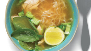 Quick and easy chicken pho