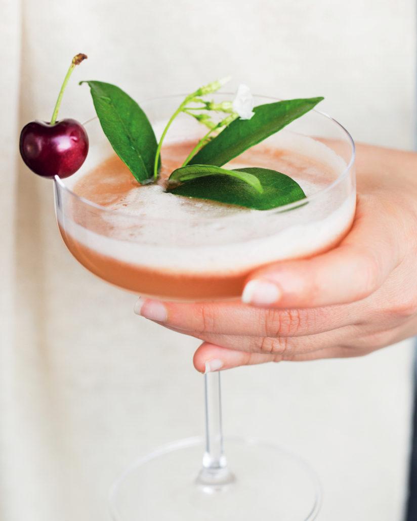 Peruvian grapefruit cocktails