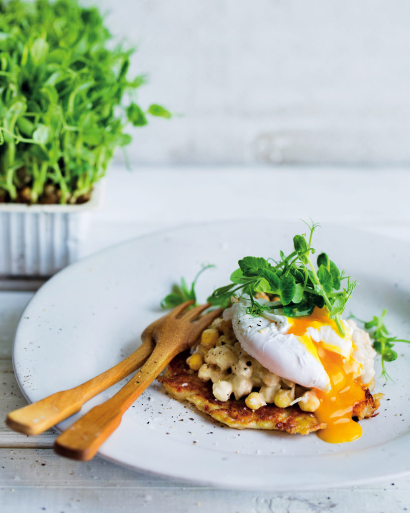 Sprouted breakfast stacks