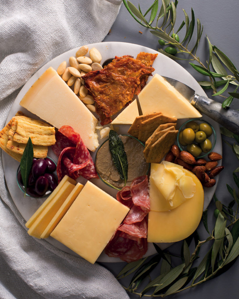 Meat lovers cheese board