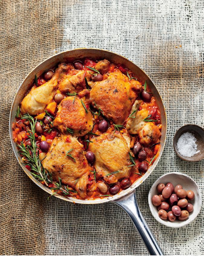 Chicken in Italian tomato sauce