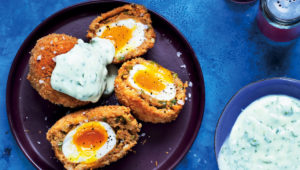 Falafel Scotch eggs
