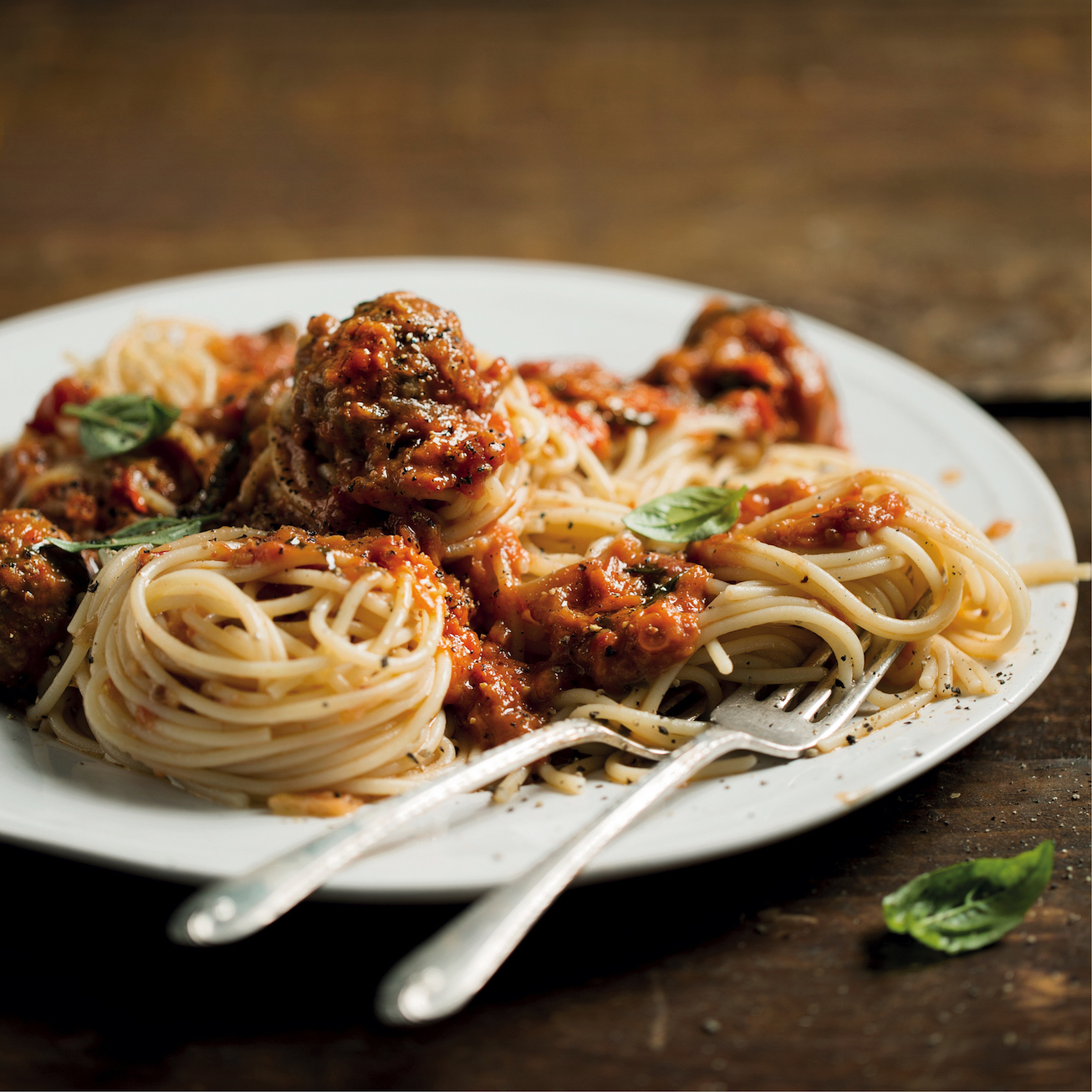 Spaghetti and Frikkadels