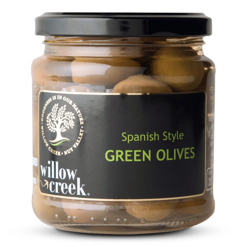 Willow Creek Green Olives