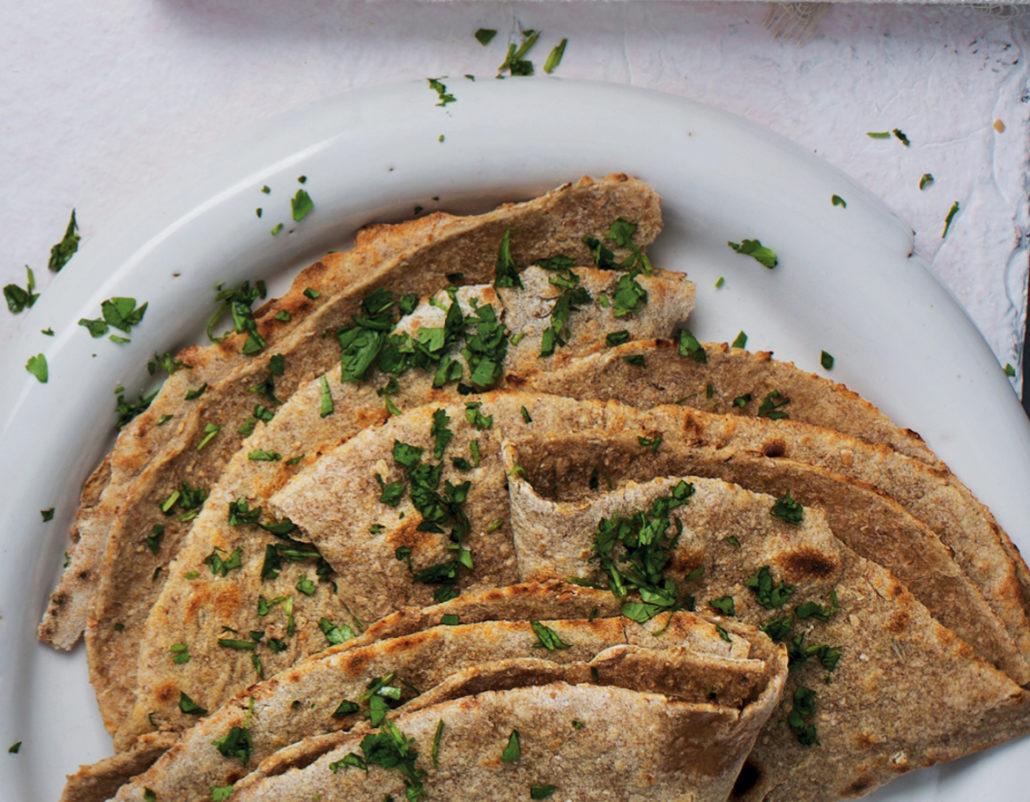 Home-made rotis