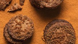 Speculaas buckwheat cookies
