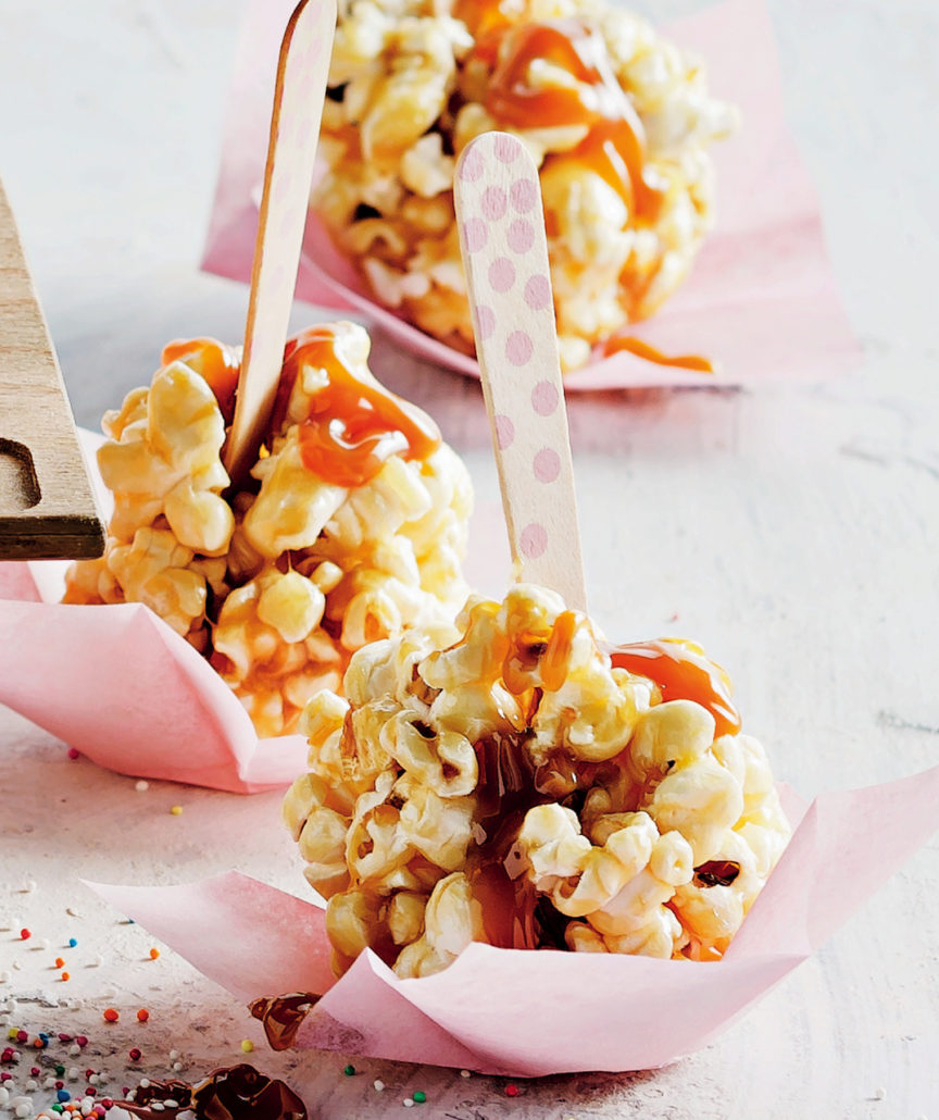 Butterscotch popcorn balls