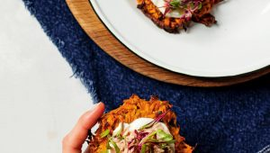 Sweet potato rösti