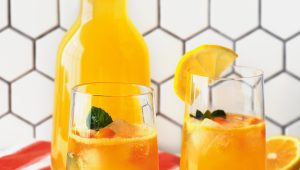 Gooseberry lemonade