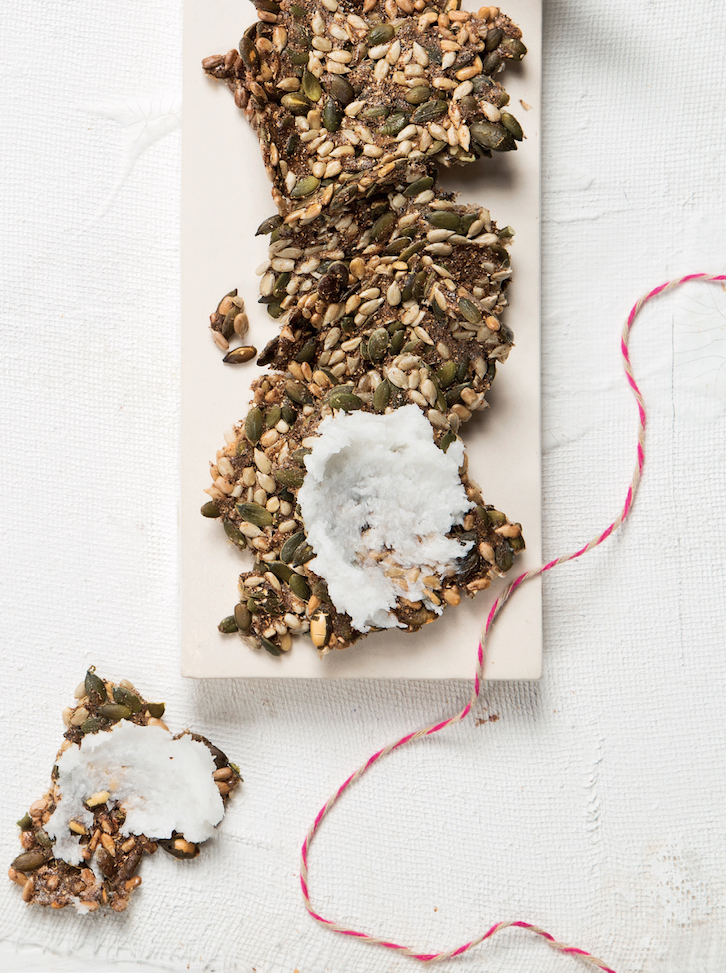 Kelp crackers