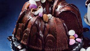 Easter malva pudding