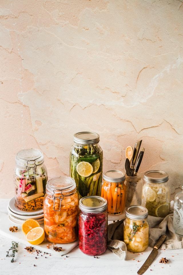 preserving vegetables