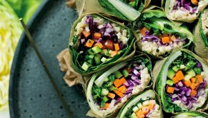 Swiss chard roll-ups