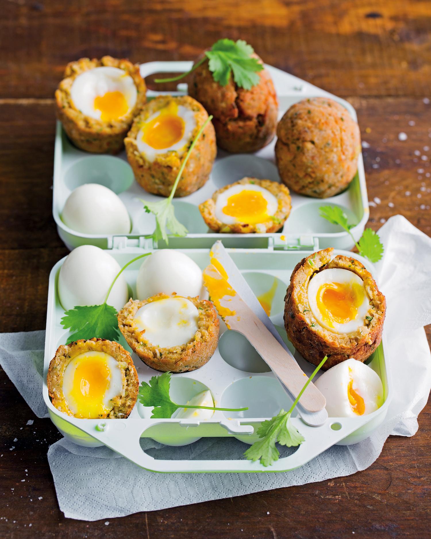Falafel Scotch eggs