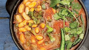 Chunky chakalaka soup