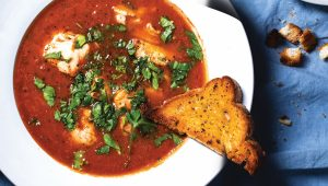 Light fish stew