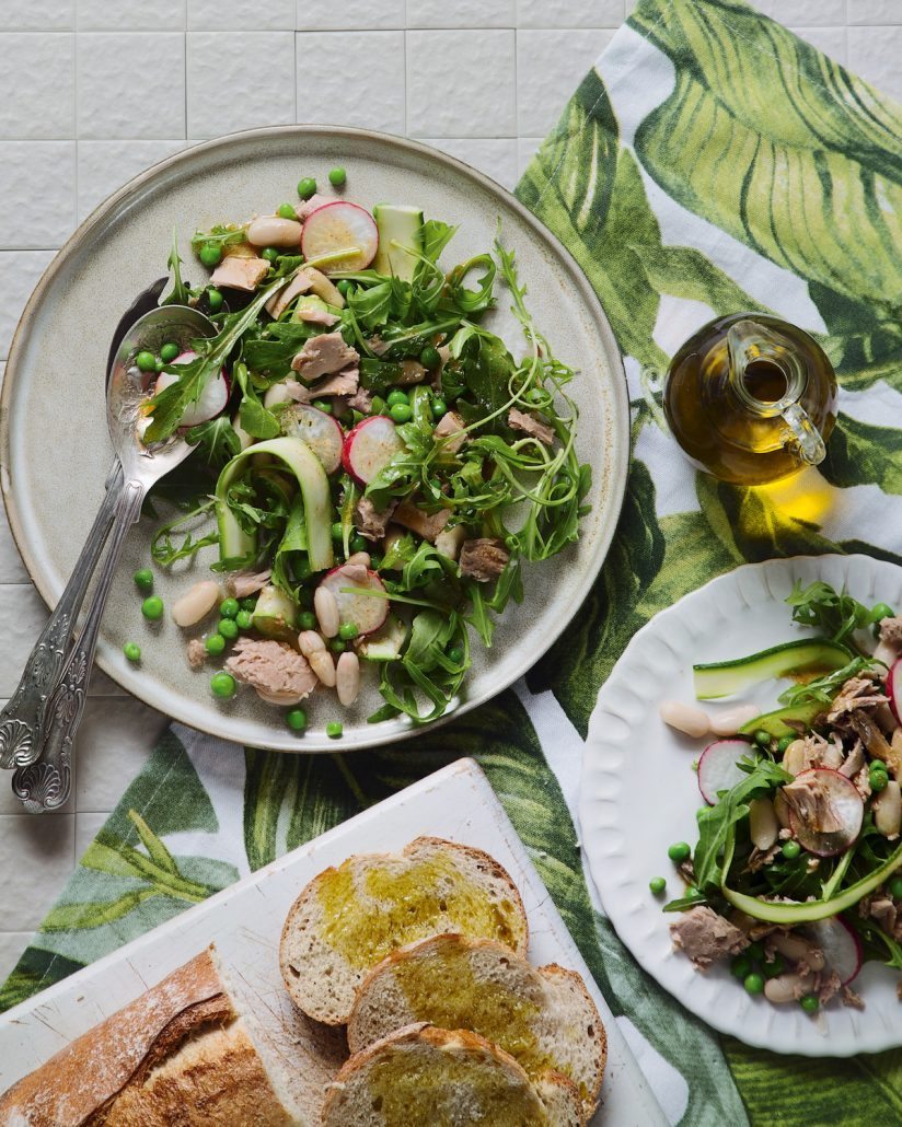 Tinned tuna salad