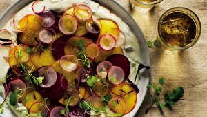 Vegetable carpaccio