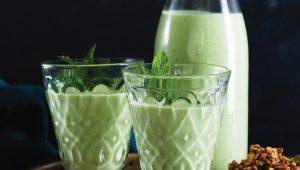 Green lassi