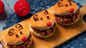 Reindeer sloppy joes