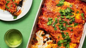 Mexican enchilada bake