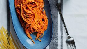Red-pepper linguine